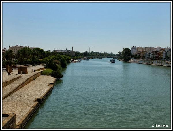 Séville fleuve Guadalquivir
