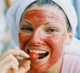 Maker Strawberry Tomat Bengkoang Untuk Perawatan mencerahkan Wajah