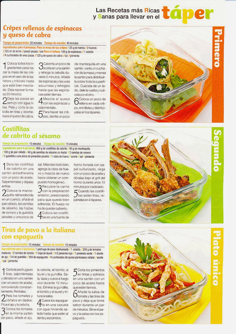 Image Result For Recetas De Cocina Escritas En Idioma Ingles