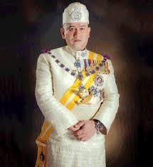 Duli Yang Maha Mulia Seri Paduka Baginda Yang di-Pertuan Agong XV Sultan Muhammad V.