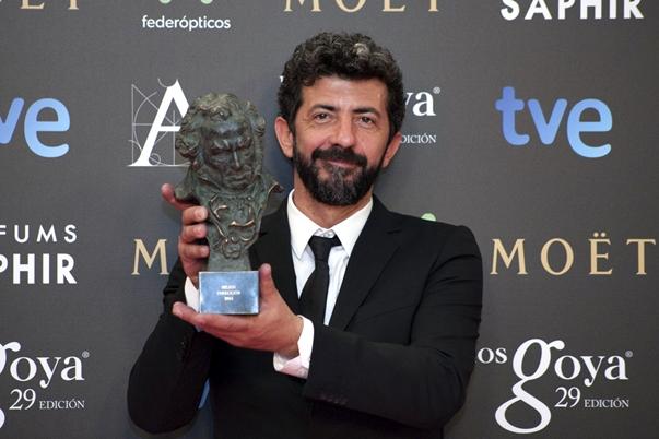 Alberto Rodríguez, triunfador en la noche de los Goya