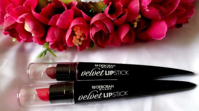 Deborah Milano Velvet Lipsticks
