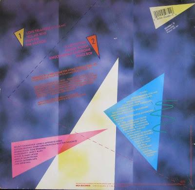 Tyrone Brunson – Love Triangle (1987, LP, 192)