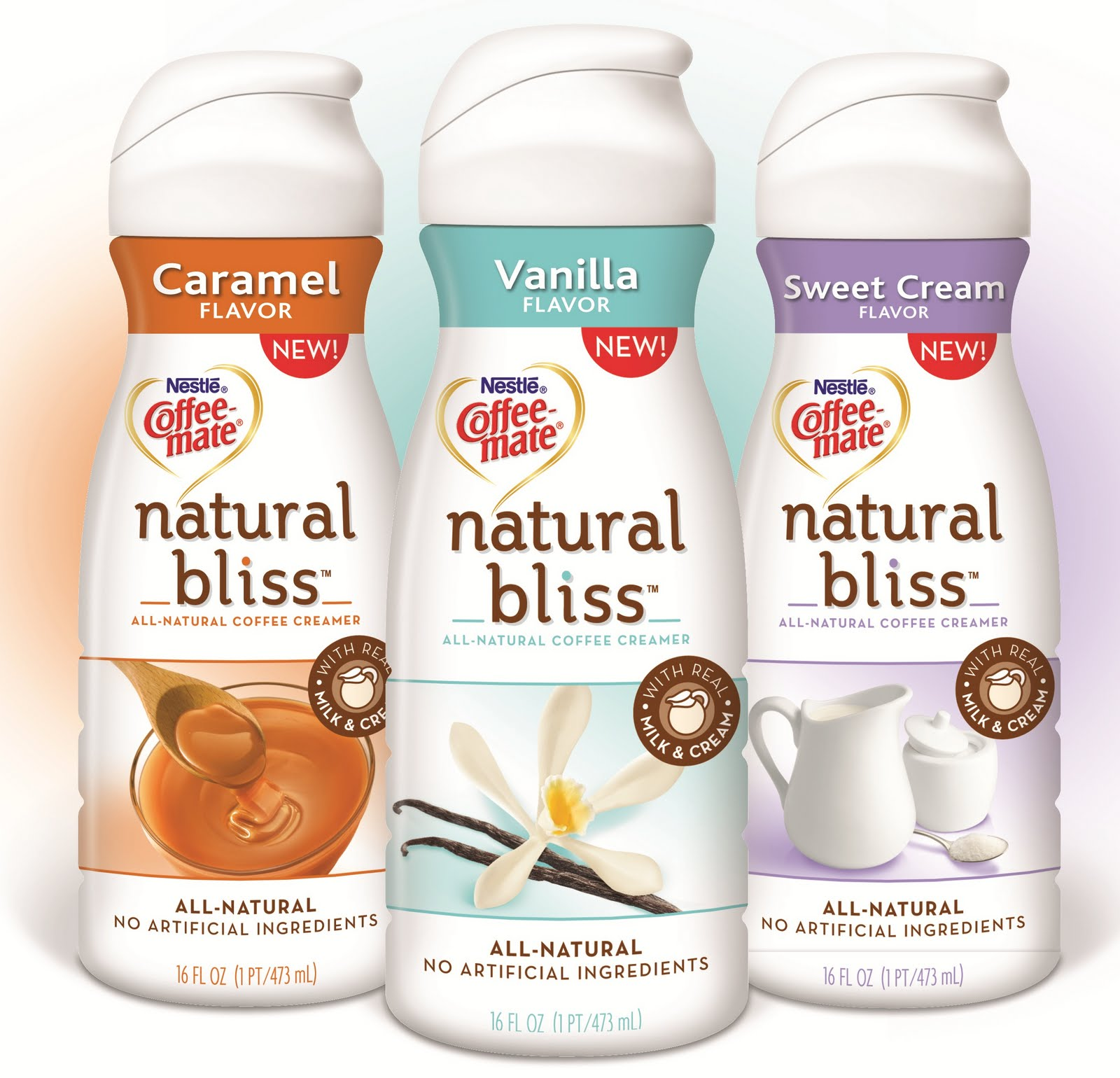 Coffee Mate Natural Bliss Vanilla Creamer