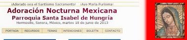 Adoración Nocturna Mexicana