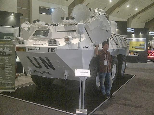 Panser Anoa2 Dipamerkan di JIExpo Kemayoran Jakarta