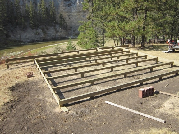 Post And Beam Foundation Construction Pictures To Pin On