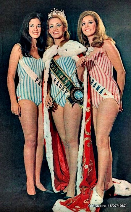 1967 - Top Tres Miss Universo Brasil
