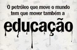 INVESTIR NA EDUCAÇÃO, É INVESTIR NO BRASILEIRO
