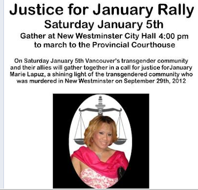 Planetransgender Justice For January Kill A Trans Woman
