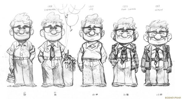 Pixar Character Design Tips : Ohel studio spot