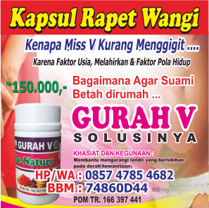 kapsul Rapet Wangi Rahma Herbal
