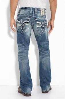Heavy stitch RockRevival jeans