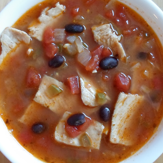 Happier Than A Pig In Mud: Southwestern Pork and Bean Soup