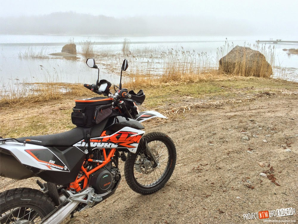 2014 KTM 690 Enduro R in the archipelago