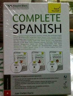 Buku Teach Yourself Complete Spanish Murah