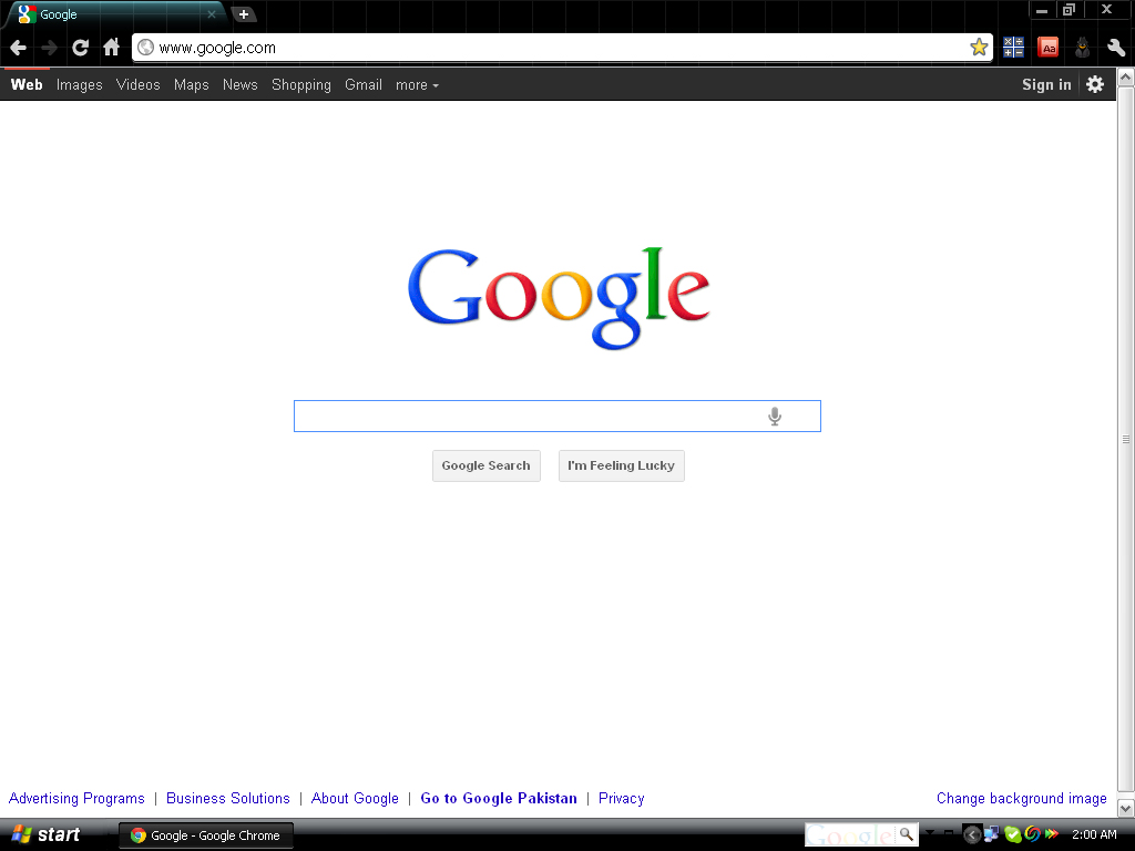 how to customize google search bar