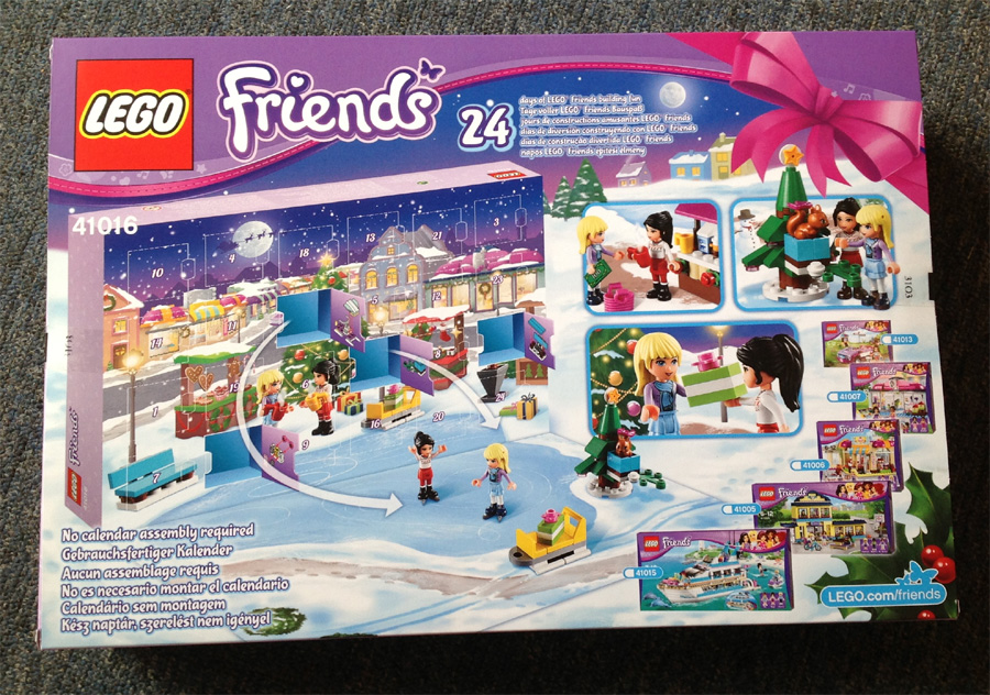 LEGO ADVENT CALENDARS ALREADY IN STORES!!!