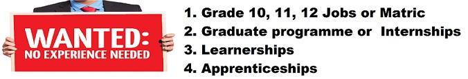 Grade 12 Jobs