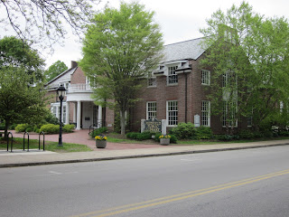 medfield library in town center