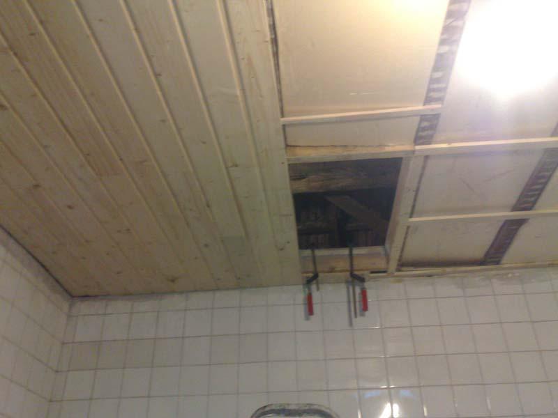Proyectos dilmonti arreglos del techo de mi guardilla - Friso en techo ...