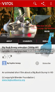 Viral Pro (YouTube Pop-up HD) Free Apps 4 Android