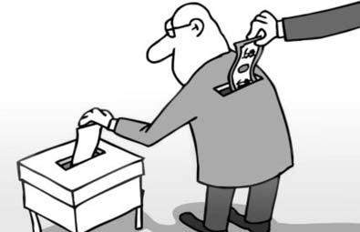 QUEM FAZ  PRIMEIRO A CORRUPÇÃO É O ELEITOR  E DEPOIS VAI SE RECLAMAR