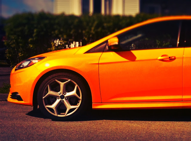 2013 Ford Focus ST wheels