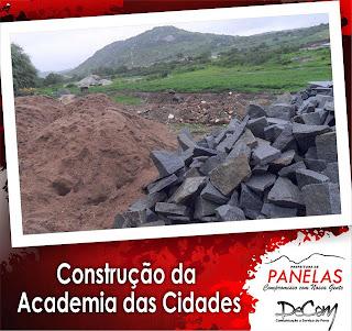 Prefeitura de Panelas inicia obras de construção da Academia das Cidades