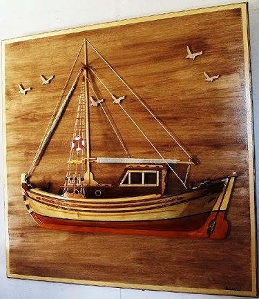 … Μια ακόμα καλλιτεχνική δημιουργία με την υψηλή αισθητική του Αντώνη στην Ερμιόνη!!...