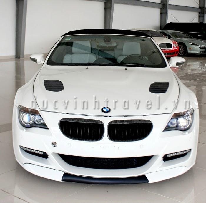 Cho thuê xe 4 chỗ VIP BMW M6 trắng