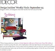 Elle Decor.com Design Insiders&#39; Weekly Finds