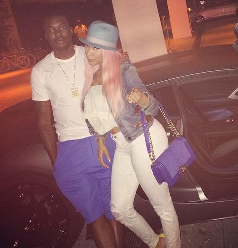 Nicki Minaj and Meek Mill Engaged Suspense and Love Posts
