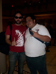 Con Tito Fuentes de Molotov