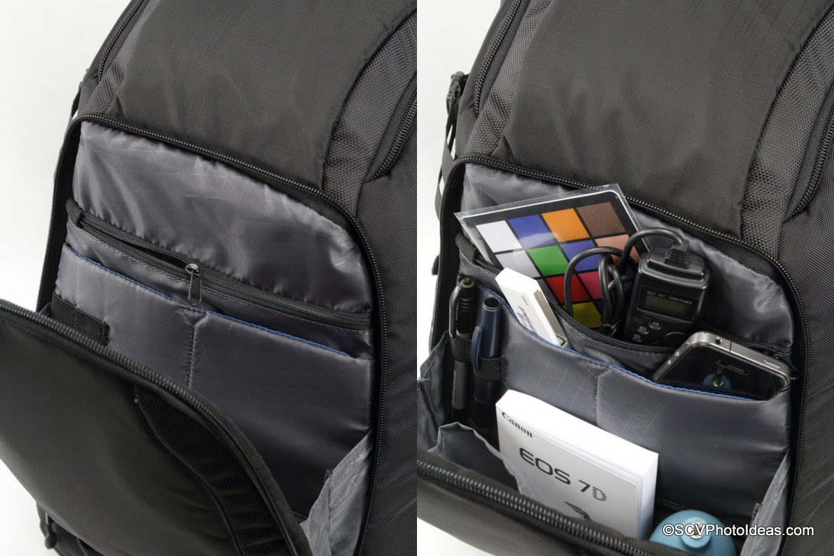 Case Logic DSB-103 front compartment organizer pockets