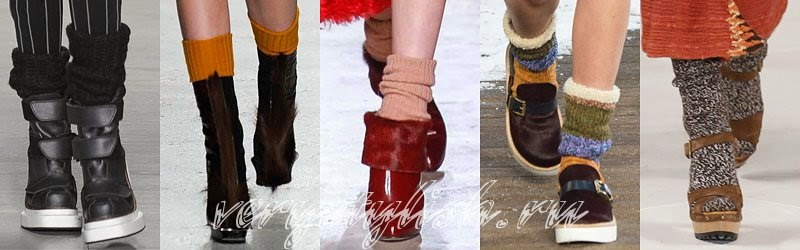 Winter 2015 Women's High Heels Boots Fashion Trends