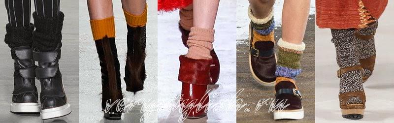 Winter 2015 Women's High Heels Boots Fashion Trends