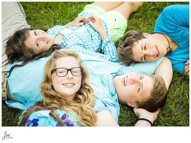 Camp Hydaway Lynchburg Virginia Outdoor Family Portrait Session