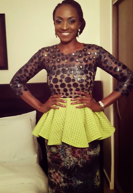Kate Henshaw's Lovely Attire At The Native And Vogue Int'l Fashion Week – Photo