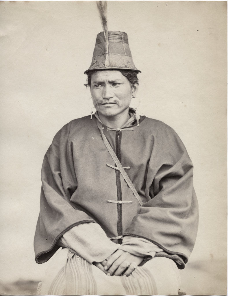 Portrait of an Indian Lepcha - c1870's