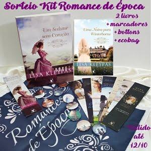 Sorteio Kit Romance de Época Arqueiro