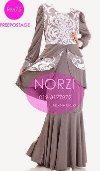 NBH0213 BADRINA DRESS (NURSING FRIENDLY)
