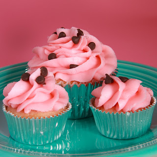 Cherry Chocolate Chip Cupcake