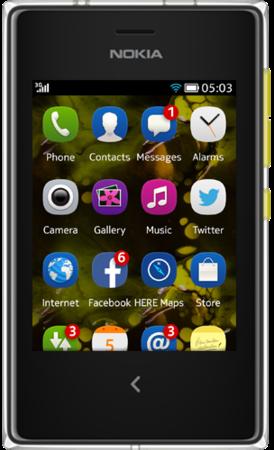 """Nokia Asha 503 pantalla 3"""" touch"""