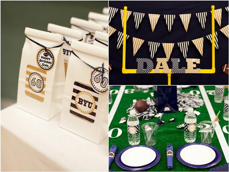 My Next Party Feature Goes To This Unbelievable SURPRISE 60TH BIRTHDAY FOOTBALL TAILGATING PARTY Submitted By Jennifer Carver Of Banner Events