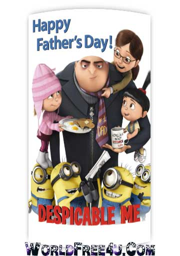 Poster Of Despicable Me (2010) In Hindi English Dual Audio 300MB Compressed Small Size Pc Movie Free Download Only At World4ufree.Org