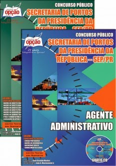 Apostila Concurso Advocacia Geral da União / Secretaria de Portos da Presidência da República AGU-SEP/PR 2014
