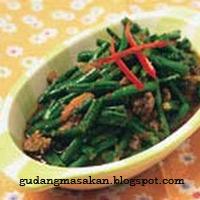 Resep Masakan Tumis Kacang Arcis