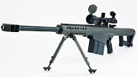 Barrett M107 anti material rifle
