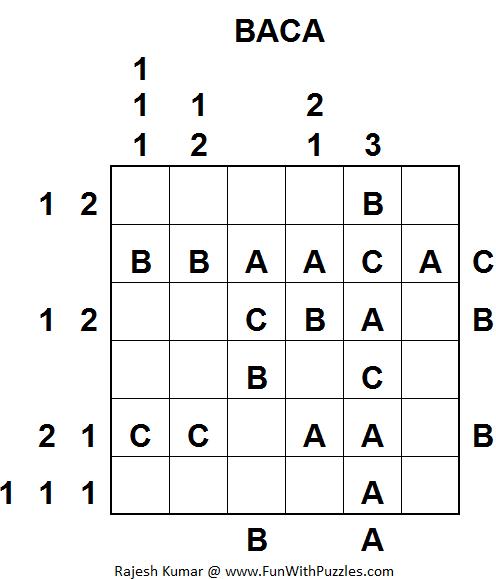 BACA (Mini Puzzles Series #29)